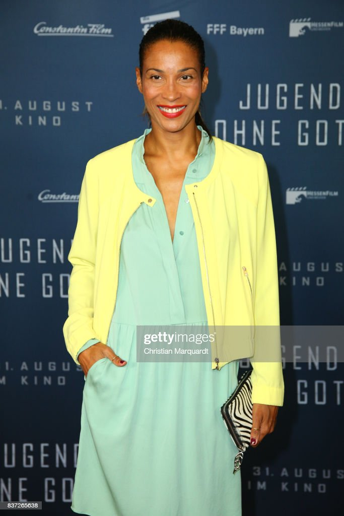 Annabell Mandeng attends the premiere of 'Jugend ohne Gott' at Zoo Palast on August 22, 2017 in Berlin, Germany.