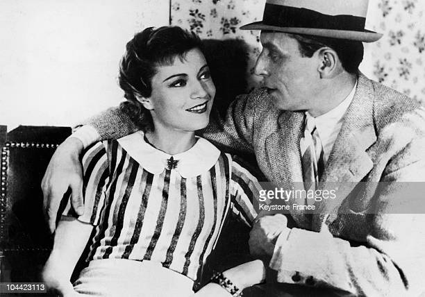 Annabella And Louis Jouvet In A Scene From The Film Hotel Du Nord Directed By Marcel Carne In 1938