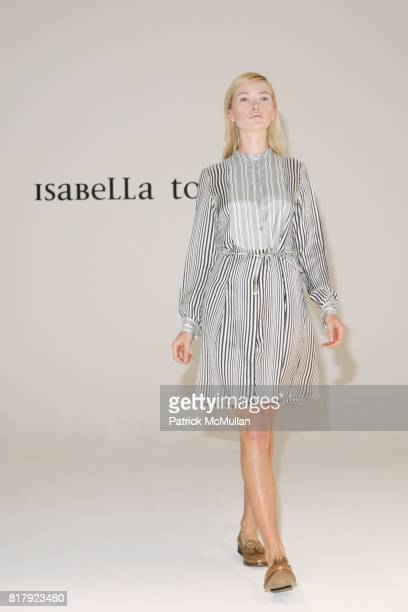 Annabella Barber attends Isabella Tonchi Spring 2011 Fashion Show at Milk Studios on September 11 2010 in New York City