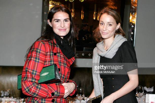 Annabella Murphy and Georgina Rylance attend A VIP inhouse screening of 'An Englishman in NY' at SOHO house on December 1 2009 in New York City