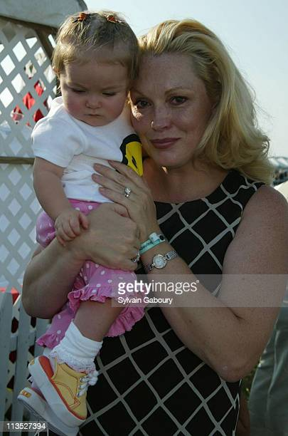 Annabella Rose Cathy Moriarty during Closing Day of the MercedesBenz Polo Challenge / Michael J Fox Foundation for Parkinson's Research Benefit at...