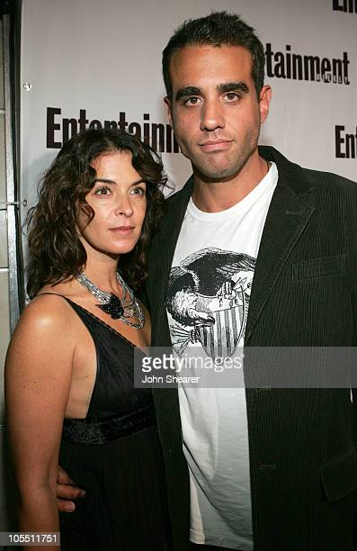Annabella Sciorra and Bobby Cannavale during 2005 Toronto Film Festival - Entertainment Weekly/Endeavor Party at Lobby in Toronto, Canada.