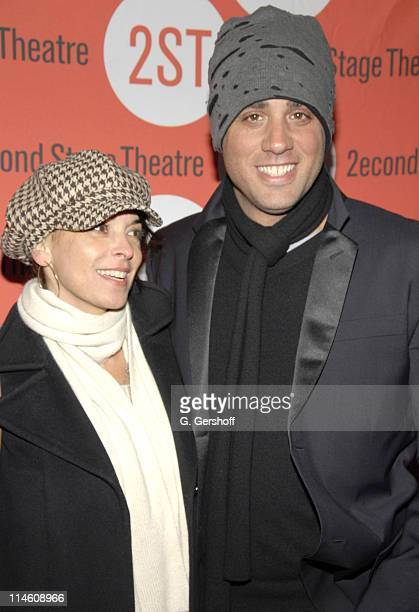 """Annabella Sciorra and Bobby Cannavale during """"The Scene"""" New York Opening Night and After Party at Second Stage Theatre in New York City, New York,..."""