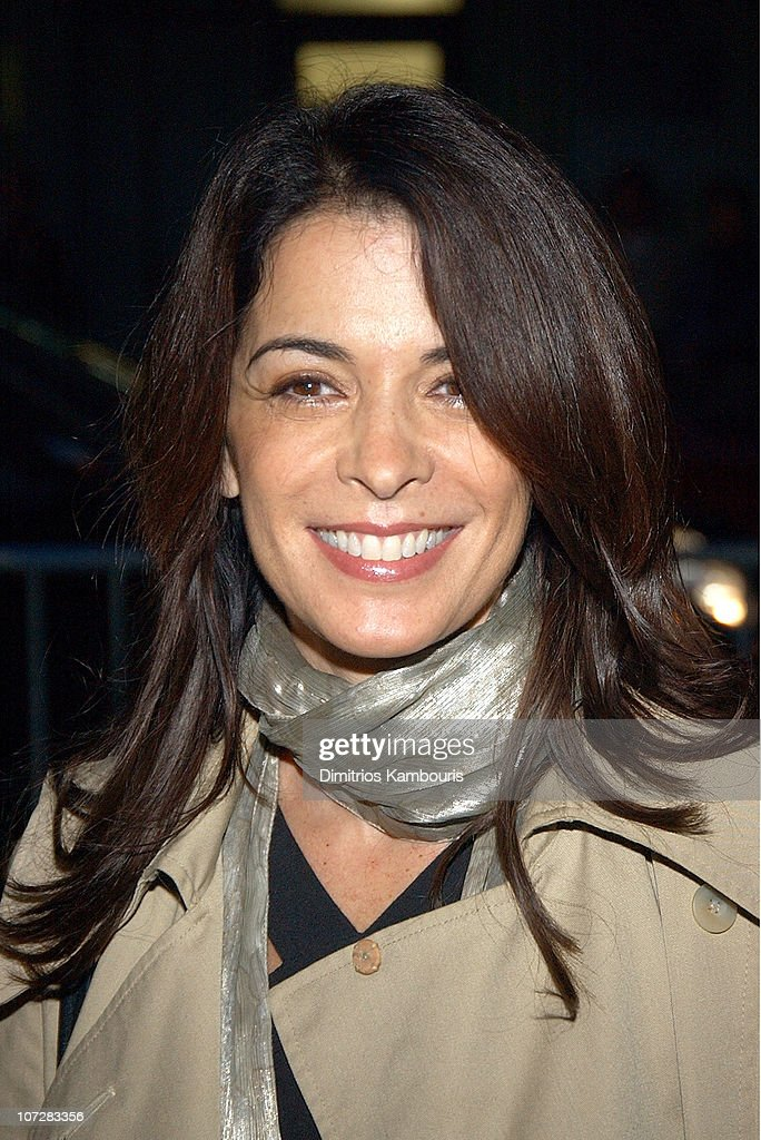Annabella Sciorra during 1st Annual LAByrinth Theater Company Celebrity Charades Benefit presented by Gotham and LA Confidential Magazine at Daryl Roth Theater in New York City, New York, United States.