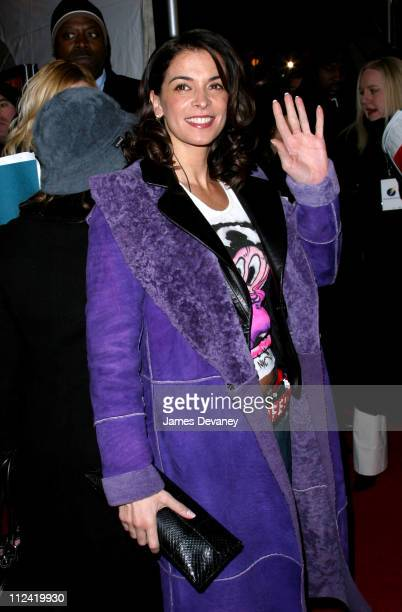 """Annabella Sciorra during """"25th Hour"""" New York City Premiere - Arrivals at Ziegfeld Theater in New York City, New York, United States."""