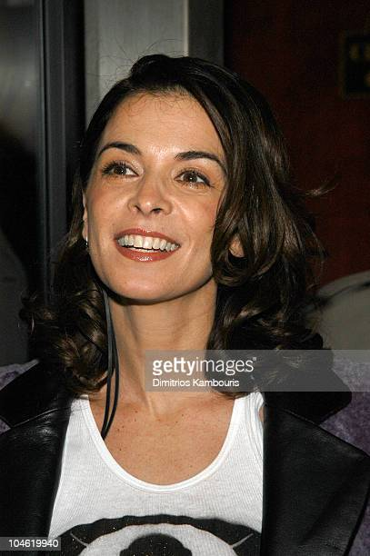 """Annabella Sciorra during """"25th Hour"""" New York City Premiere - Inside Arrivals at Ziegfeld Theater in New York City, New York, United States."""