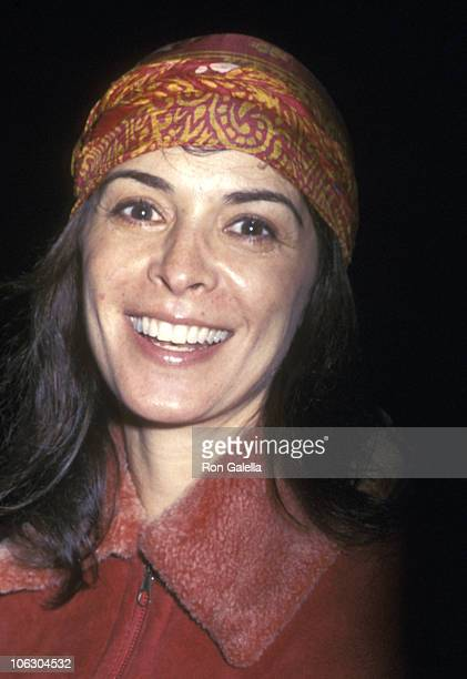 Annabella Sciorra during Annabella Sciorra Walking on 23rd Street at 23rd Street in New York City New York United States