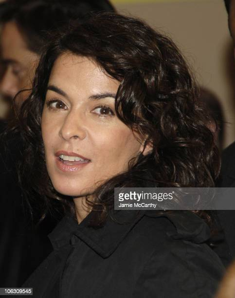 Annabella Sciorra during 'Barefoot in the Park' Broadway Opening Night Arrivals in New York City New York United States