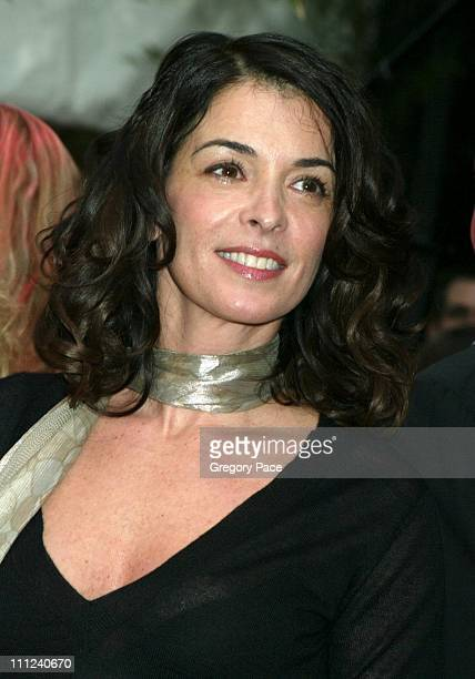 Annabella Sciorra during Cartier Party for Le Baiser du Dragon Honoring New Yorkers for Children at The Cartier Store in New York City, New York,...