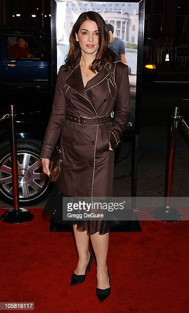 Annabella Sciorra during Chasing Liberty Premiere at Grauman's Chinese Theatre in Hollywood California United States