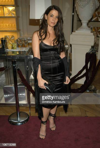Annabella Sciorra during Domenico Dolce and Stefano Gabbana Celebrate The Release of Their Book Hollywood Inside at Bergdorf Goodman in New York City...