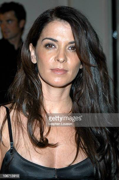 Annabella Sciorra during Domenico Dolce and Stefano Gabbana Celebrate The Release of Their Book 'Hollywood' Published By Assouline at Bergdorf...