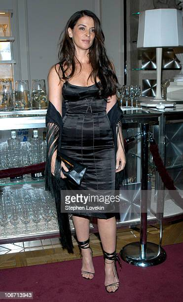 fef5bee36d5 Annabella Sciorra during Domenico Dolce and Stefano Gabbana Celebrate The  Release of Their Book 'Hollywood