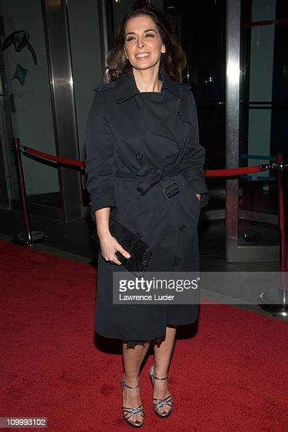 Annabella Sciorra during Find Me Guilty' New York Premiere Arrivals at Sony Lincoln Square in New York City New York United States