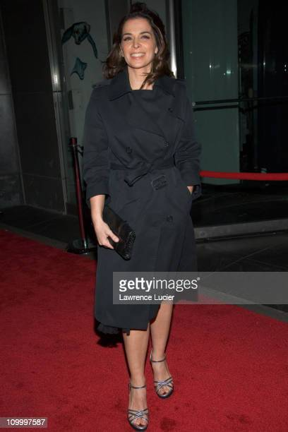 Annabella Sciorra during Find Me Guilty' New York Premiere - Arrivals at Sony Lincoln Square in New York City, New York, United States.