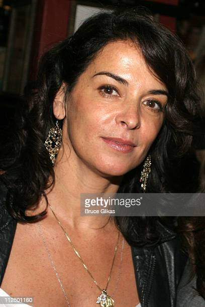 Annabella Sciorra during Glengarry Glen Ross Broadway Opening Night Curtain Call and After Party at The Royale Theater and Sardi's in New York City...