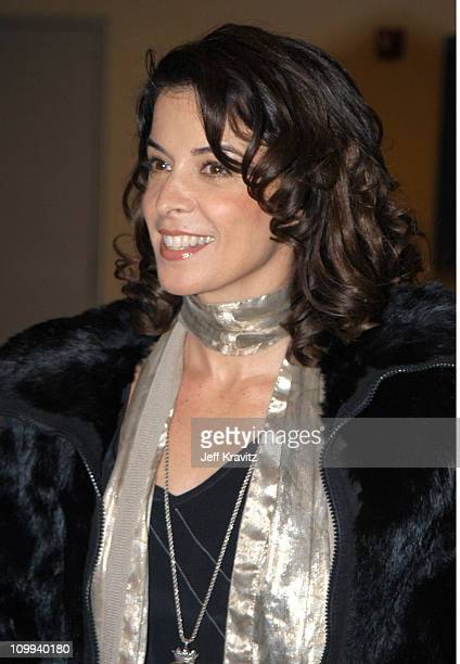 Annabella Sciorra during HBO's Six Feet Under Third Season World Premiere After Party at Capitale in New York City New York United States
