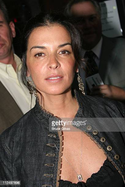 Annabella Sciorra during Opening Night Celebration of 'Hurlyburly' ReOpening OffBroadway at 37 Arts and Aer Nightclub in New York NY United States