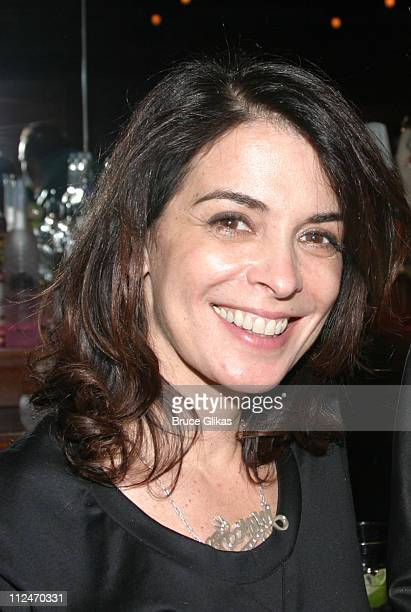 Annabella Sciorra during Opening Night Party for The New Group's Production of Roar at West Bank Cafe in New York City New York United States