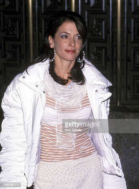 Annabella Sciorra during Premiere of The 3rd Season of 'The Sopranos' at Radio City Music Hall in New York City New York United States