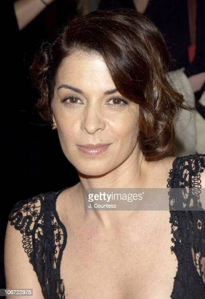 Annabella Sciorra during Sarah Wynter Hope Davis and Annabella Sciorra Host Cocktail Party to Celebrate Launch of The Van Cleef and Arpels Frivole...