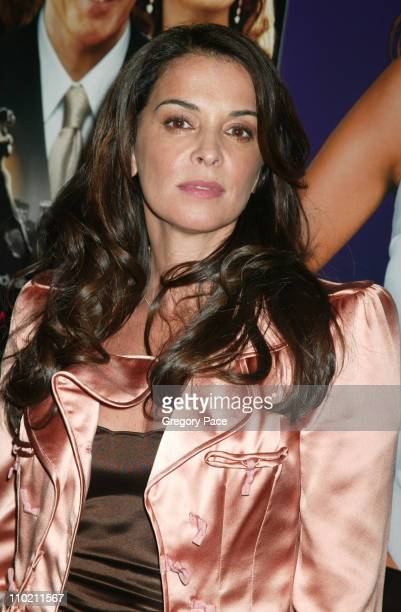 Annabella Sciorra during Shall We Dance New York Premiere Inside Arrivals at Paris Theater in New York City New York United States