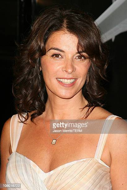 Annabella Sciorra during Snakes on a Plane Los Angeles Premiere Arrivals at GraumanIs Chinese Theatre in Hollywood California United States