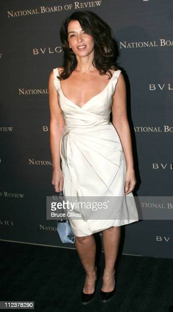 Annabella Sciorra during The 2006 National Board of Review of Motion Pictures Annual Gala at Cipriani in New York NY United States