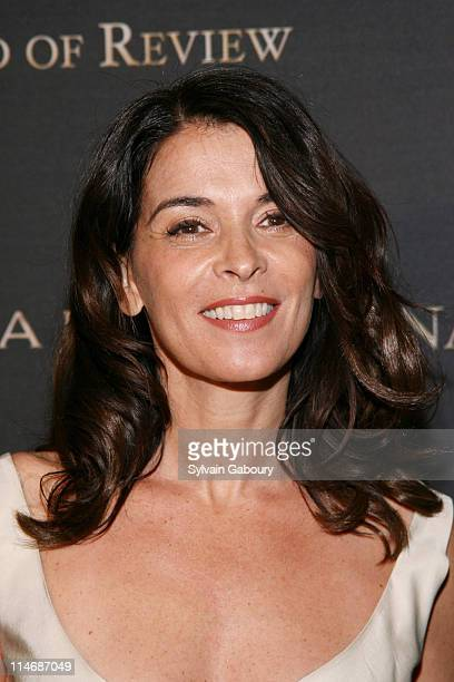 Annabella Sciorra during The 2006 National Board of Review of Motion Pictures Awards Gala - Inside Arrivals. At Cipriani's 42nd Street in New York...