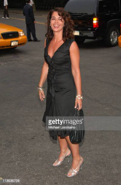 Annabella Sciorra during The Fresh Air Fund Salute To American Heroes June 1 2006 at Tavern On the Green in New York City New York United States