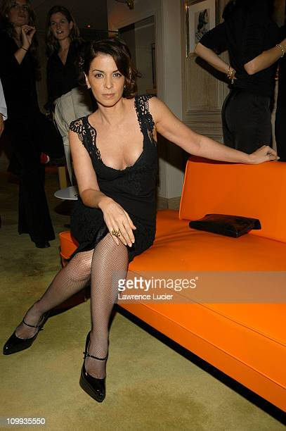 Annabella Sciorra during The Launch Of The Frivole Collection at Van Cleef Arpels in New York City New York United States