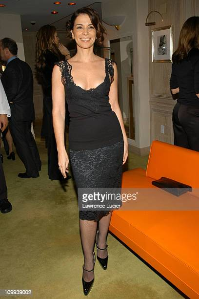 Annabella Sciorra during The Launch Of The Frivole Collection at Van Cleef & Arpels in New York City, New York, United States.