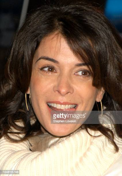 Annabella Sciorra during The New York Premiere of Laurel Canyon at Clearview Chelsea West in New York City New York United States
