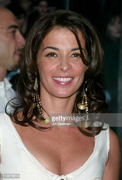 Annabella Sciorra during 'The Sopranos' 4th Season Premiere at Radio City Music Hall in New York City New York United States