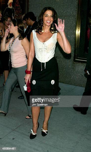 Annabella Sciorra during The Sopranos 4th Season Premiere at Radio City Music Hall in New York City New York United States