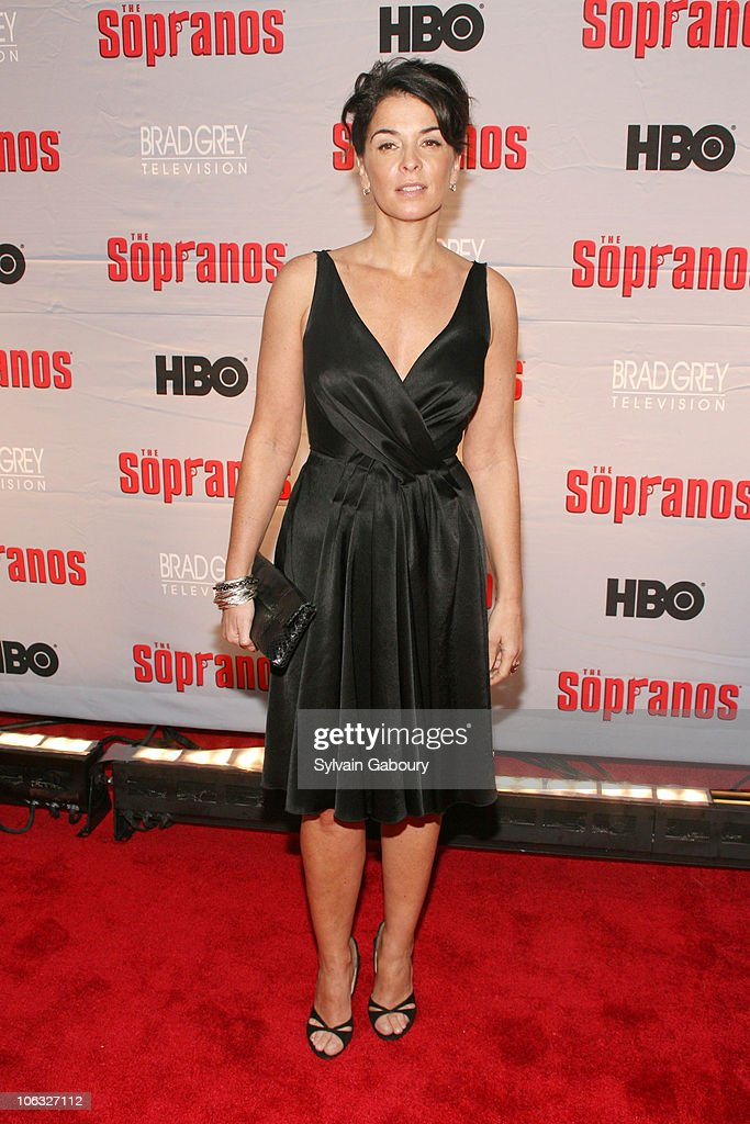 """The Sopranos"" Final Season World Premiere - Arrivals : News Photo"