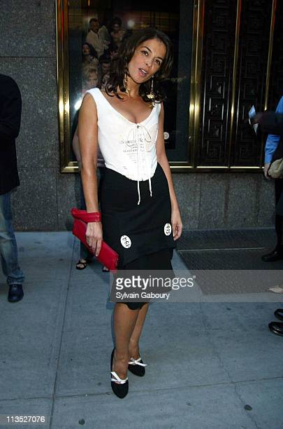Annabella Sciorra during 'The Sopranos' Premiere at Radio City Music Hall in New York New York United States