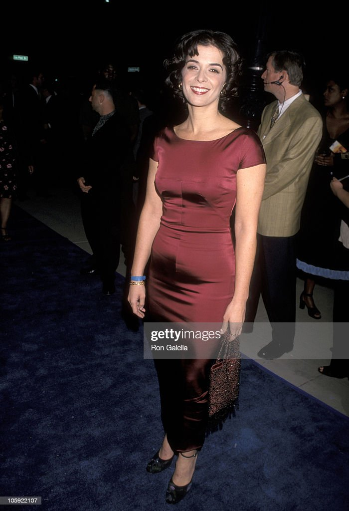 Annabella Sciorra during 'What Dreams May Come' Los Angeles Premiere in Beverly Hills, California, United States.