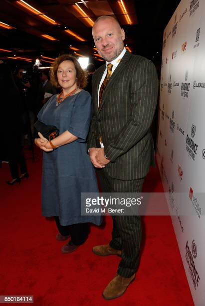 Annabelle Apsion and guest attend the Raindance Film Festival Opening Gala screening of 'Oh Lucy' at Vue Leicester Square on September 20 2017 in...