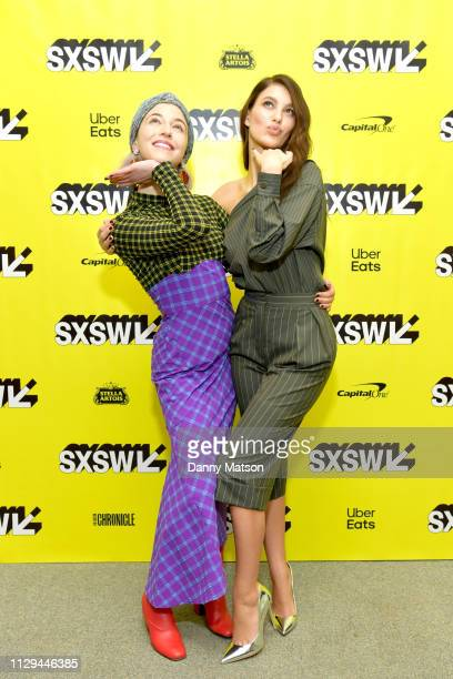 Annabelle Attanasio and Camila Morrone attend the 'Mickey and the Bear' Premiere during the 2019 SXSW Conference and Festivals at Stateside Theatre...