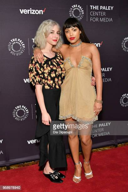 Annabelle Attanasio and Jaime Lee Kirchner attend the 2018 Paley Honors at Cipriani Wall Street on May 15 2018 in New York City