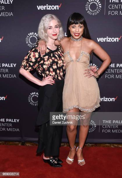 Annabelle Attanasio and Jaime Lee Kirchner attend the 2018 The Paley Honors at Cipriani Wall Street on May 15 2018 in New York City