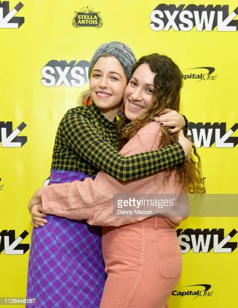 Annabelle Attanasio and Lizzie Shapiro attend the 'Mickey and the Bear' Premiere during the 2019 SXSW Conference and Festivals at Stateside Theatre...