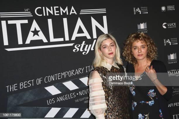 Annabelle Attanasio and Valeria Golino attend the Cinema Italian Style'18 CINECITTÃ KEY A Celebration Of Italian Cinema at Hollywood Roosevelt Hotel...