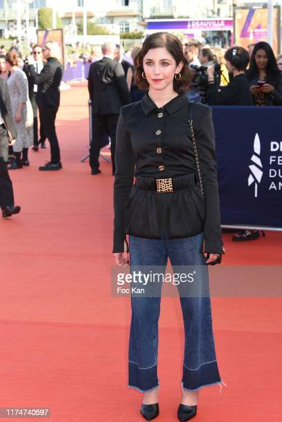 Annabelle Attanasio attends the Award Ceremony during the 45th Deauville American Film Festival on September 14 2019 in Deauville France