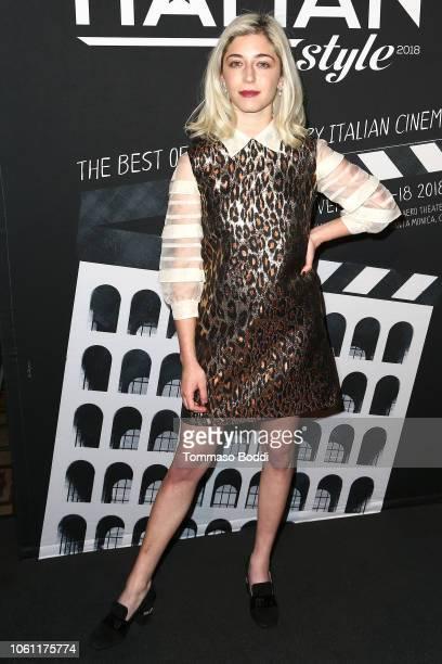 Annabelle Attanasio attends the Cinema Italian Style'18 CINECITTÃ KEY A Celebration Of Italian Cinema at Hollywood Roosevelt Hotel on November 13...