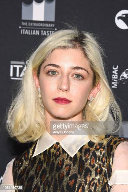 Annabelle Attanasio attends the Cinema Italian Style'18 Opening Night Gala Premiere Screening Of 'Dogman' at American Cinematheque's Egyptian Theatre...