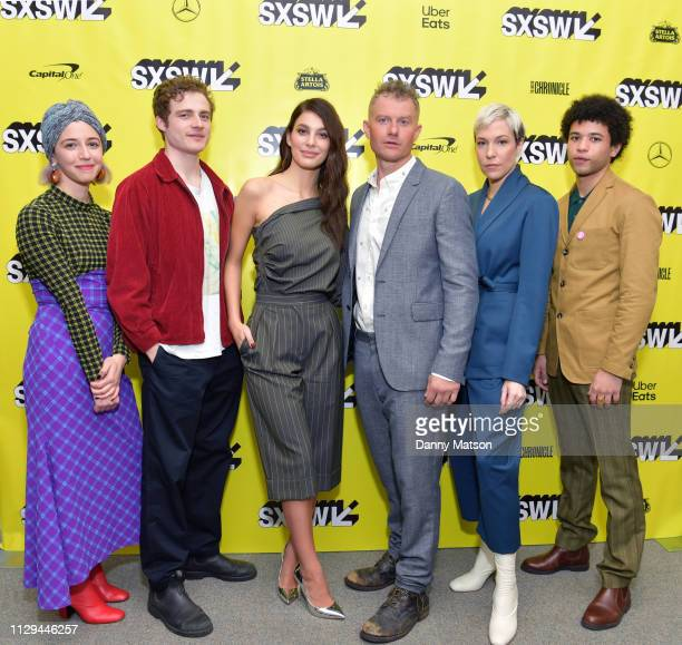 Annabelle Attanasio Ben Rosenfield Camila Morrone James Badge Dale Rebecca Henderson and Calvin Demba attend the 'Mickey and the Bear' Premiere...
