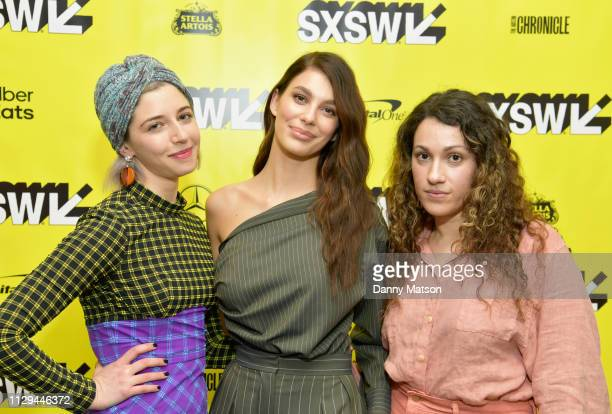 Annabelle Attanasio Camila Morrone and Lizzie Shapiro attend the 'Mickey and the Bear' Premiere during the 2019 SXSW Conference and Festivals at...
