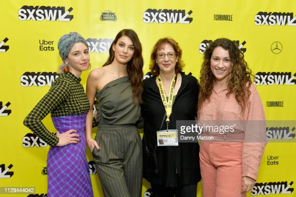 Annabelle Attanasio Camila Morrone SXSW Film director Janet Pierson and Lizzie Shapiro attend the 'Mickey and the Bear' Premiere during the 2019 SXSW...